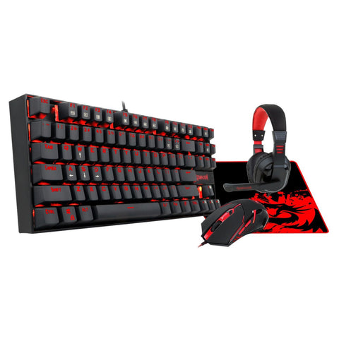 Redragon 4in1 MECHANICAL (K552|M601|H101|ARCHELON-M) Gaming Combo 1