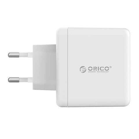 Orico 2 Port 5V 2.4A Each Port Wall Charger White