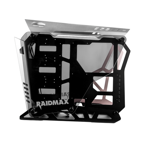Raidmax X08 Tempered Glass Both Sides (GPU 400mm) ATX Gaming Chassis Black