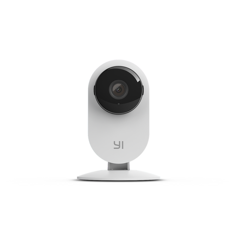 YI Smart Home Static 1080P 130 Micro SD Slot Camera Whit