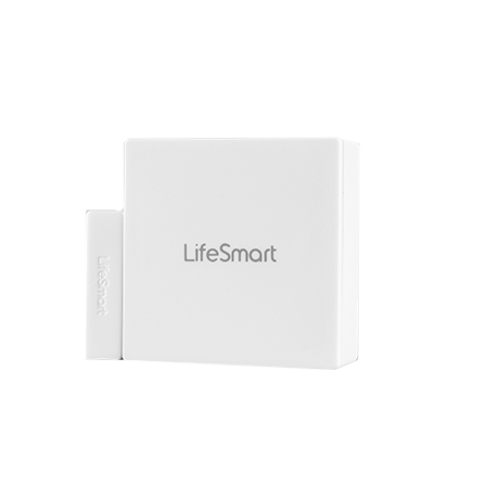 Lifesmart Cube Door/Window Contact|Impact Sensor - CR2450 Battery - White
