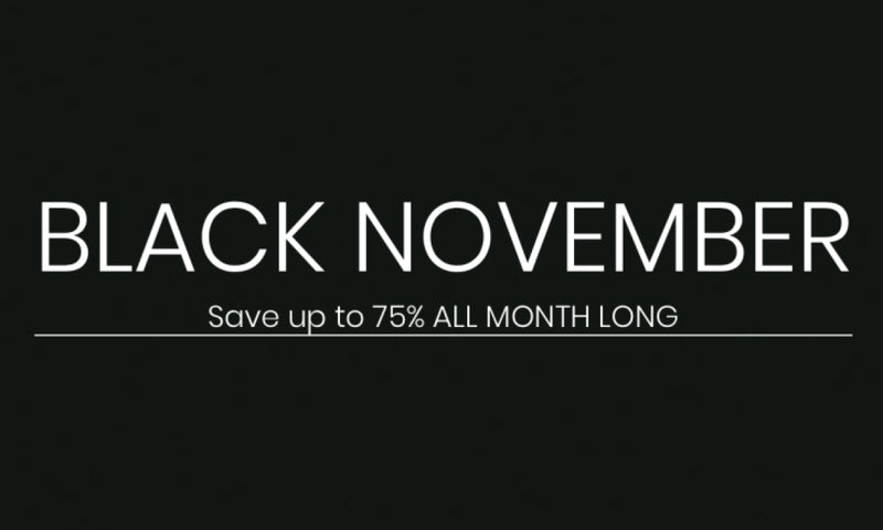 Black November Sale Going on Now!