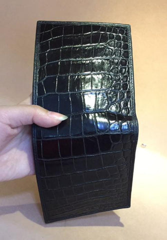 mens crocodile wallet