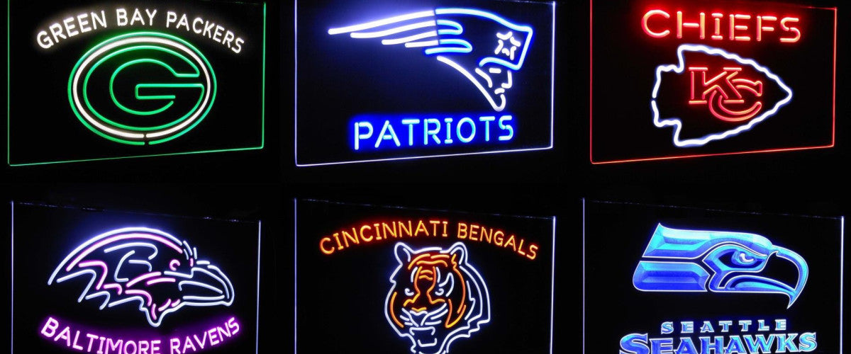 NFL LED Signs