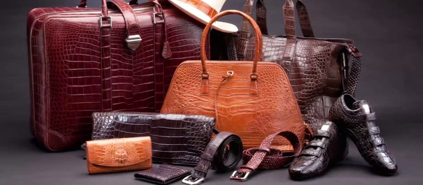 Handcrafted Exotic Leather Goods