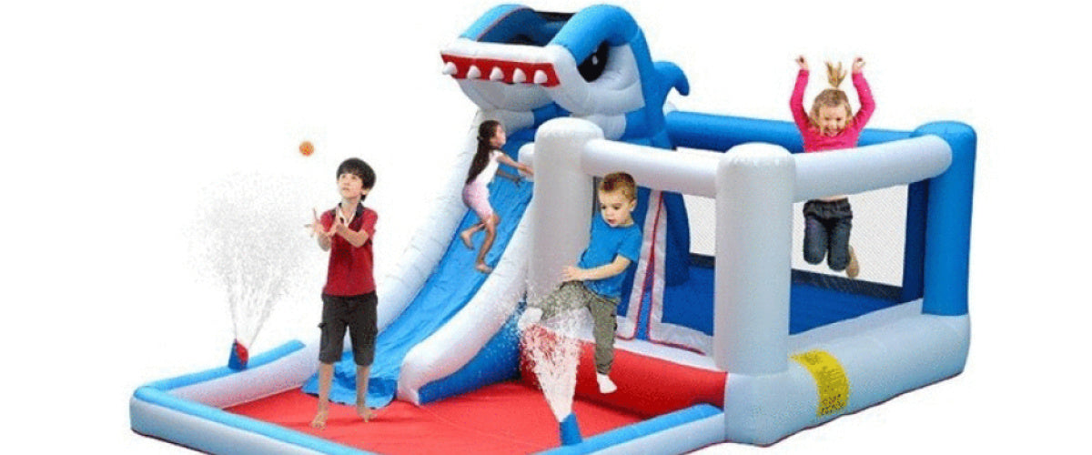 Shark Park Bounce House