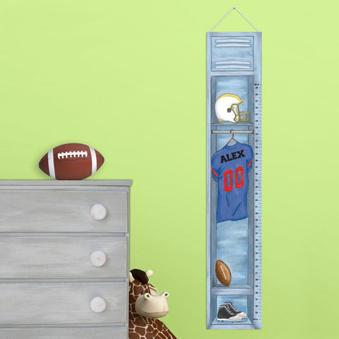 Personalized Football Height Chart