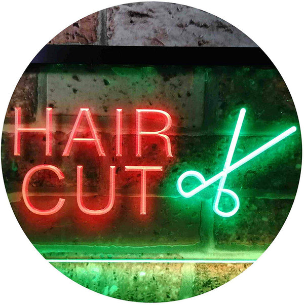 Barber Salon Hair Cut LED Neon Light Sign - Way Up Gifts