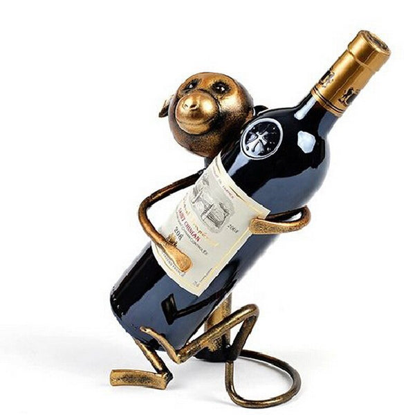 Unique Creative Metal Wine Rack Bottle Holders - Way Up Gifts