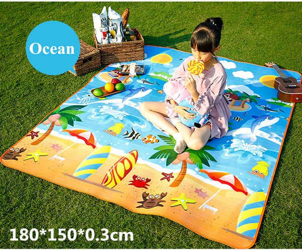 Picnic Blankets / Outdoor Baby Mats (Moisture-Proof) - Way Up Gifts