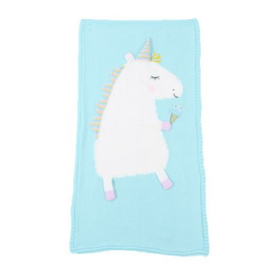 His/Her Unicorn Baby Blanket - Way Up Gifts
