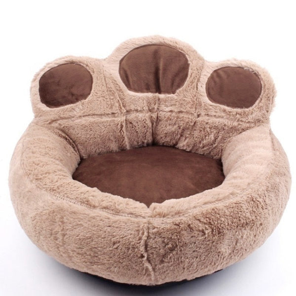 Washable Wear Resistant Paw Dog Bed S / Coffee Pet Products - Way Up Gifts