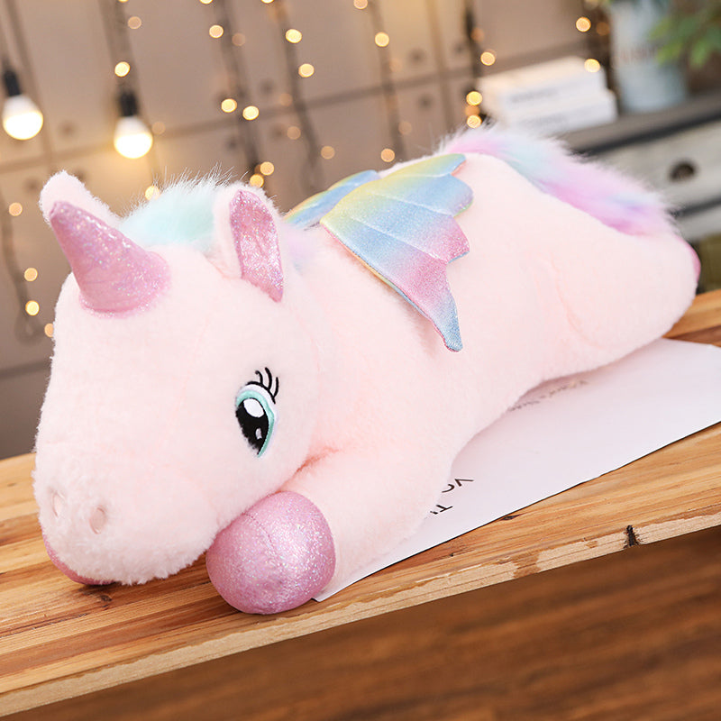 Giant Stuffed Unicorn Pony Plush Animal - Way Up Gifts