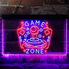 Arcade Game Zone LED Neon Light Sign
