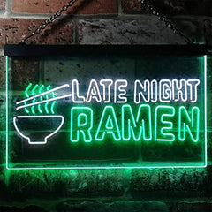 Japanese Food Late Night Ramen LED Neon Light Sign