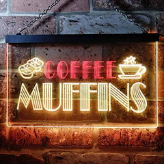Bakery Coffee Muffins LED Neon Light Sign