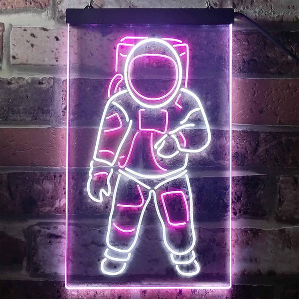 Kids Room Decor Astronaut LED Neon Light Sign - Way Up Gifts