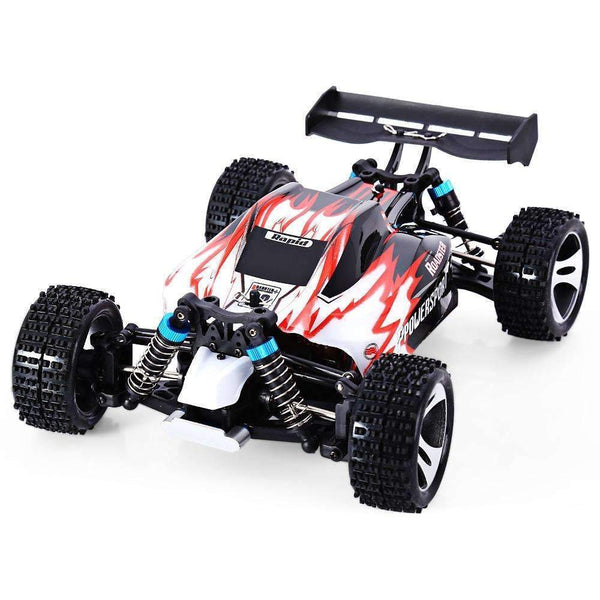 30+ MPH Roadster Remote Control Super Fast Off Road RC Car 1:18 Red Kids > RC Electronics > RC Cars - Way Up Gifts