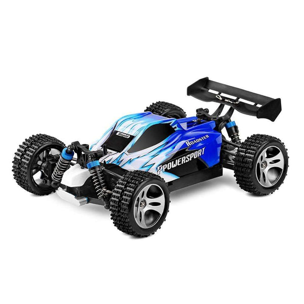 30+ MPH Roadster Remote Control Super Fast Off Road RC Car 1:18 Blue Kids > RC Electronics > RC Cars - Way Up Gifts