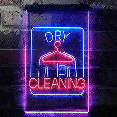 Cleaners Dry Cleaning LED Neon Light Sign
