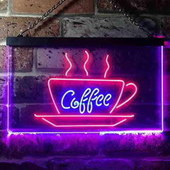Coffee Cup LED Neon Light Sign