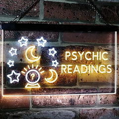 Crystal Ball Psychic Readings LED Neon Light Sign