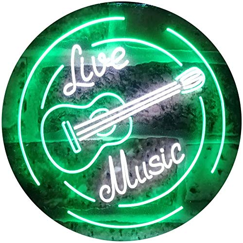Live Music Guitar Band LED Neon Light Sign - Way Up Gifts
