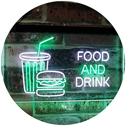Soda Burgers Food and Drink LED Neon Light Sign - Way Up Gifts