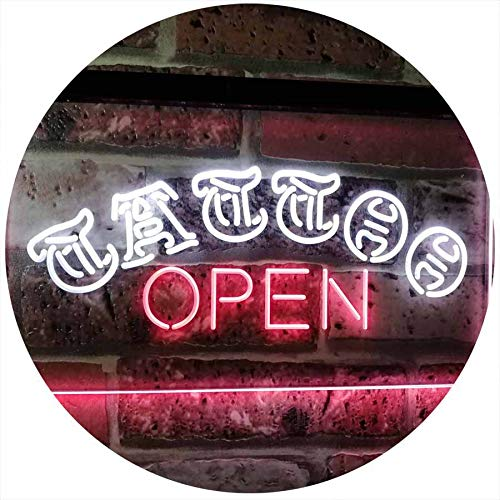 Tattoo Open LED Neon Light Sign - Way Up Gifts