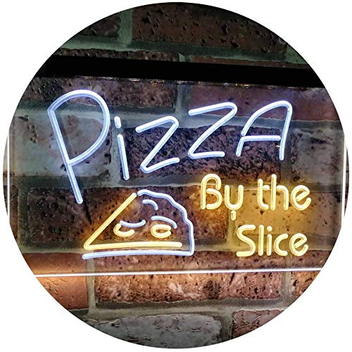 Pizza by The Slice LED Neon Light Sign - Way Up Gifts