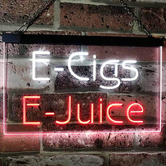 Vape Shop E-Cigs E-Juice LED Neon Light Sign