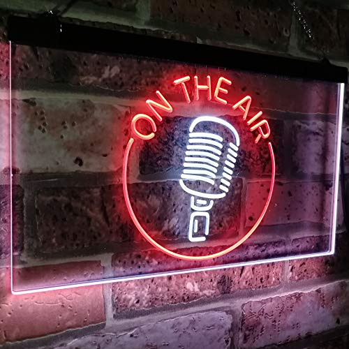 Microphone On The Air LED Neon Light Sign - Way Up Gifts