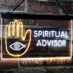 Psychic Spiritual Advisor LED Neon Light Sign