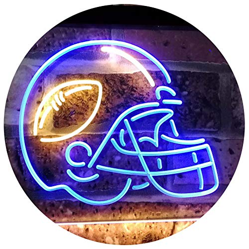 Sports Man Cave Football LED Neon Light Sign - Way Up Gifts