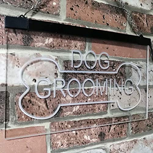 Dog Grooming LED Neon Light Sign - Way Up Gifts