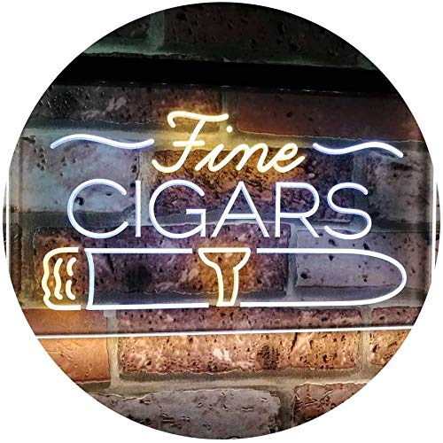 Fine Cigars LED Neon Light Sign - Way Up Gifts