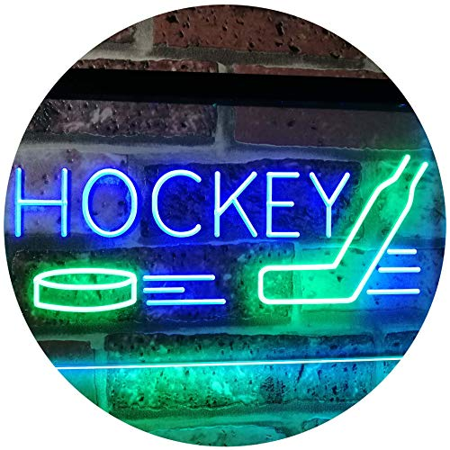 Sports Man Cave Hockey LED Neon Light Sign - Way Up Gifts