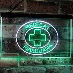Medical Marijuana LED Neon Light Sign