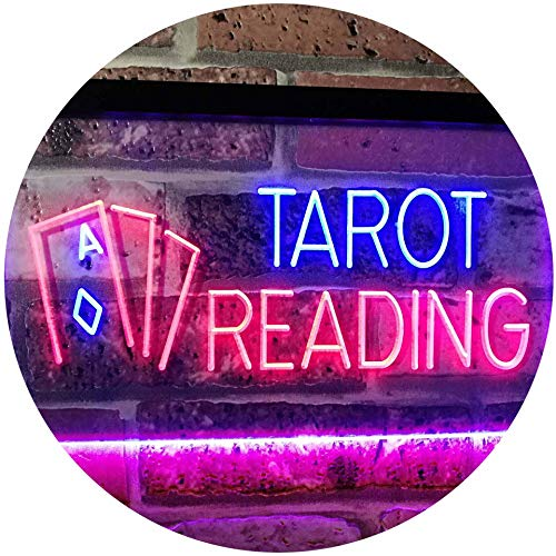 Tarot Reading LED Neon Light Sign - Way Up Gifts
