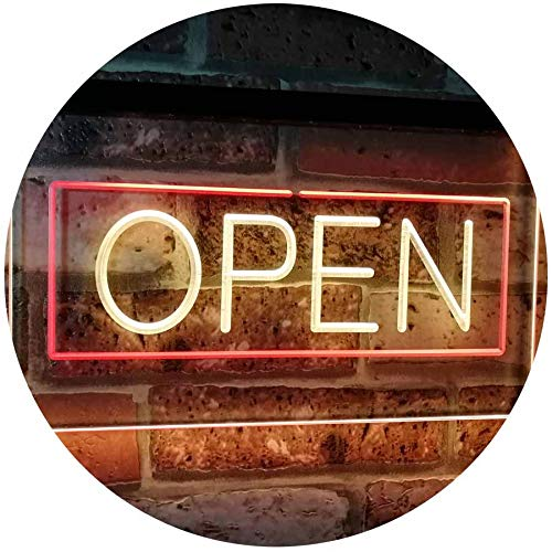 Neon Open Sign LED Light Display - Way Up Gifts