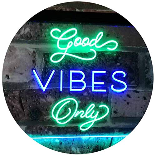 Good Vibes Only LED Neon Light Sign - Way Up Gifts