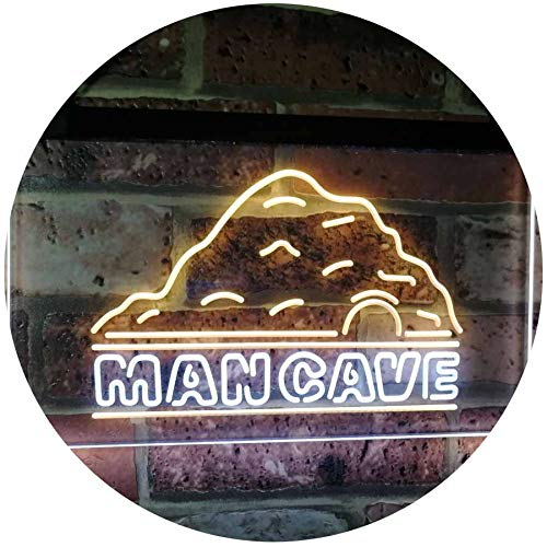Man Cave LED Neon Light Sign - Way Up Gifts