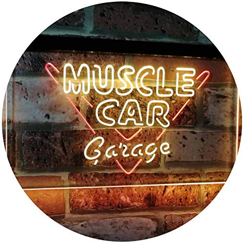 Muscle Car Garage LED Neon Light Sign - Way Up Gifts