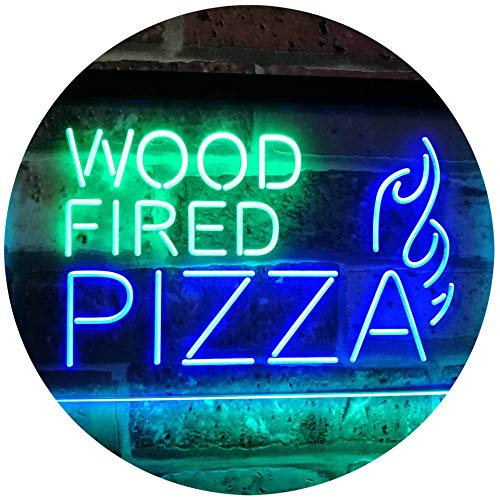 Wood Fired Pizza LED Neon Light Sign - Way Up Gifts