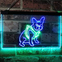 French Bulldog LED Neon Light Sign
