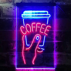 Coffee Cup To Go LED Neon Light Sign