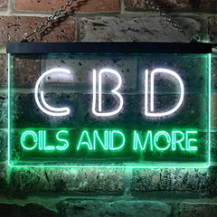 Oils CBD LED Neon Light Sign
