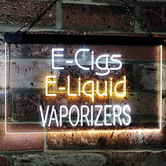 Vape Shop E-Cigs E-Liquid Vaporizers LED Neon Light Sign