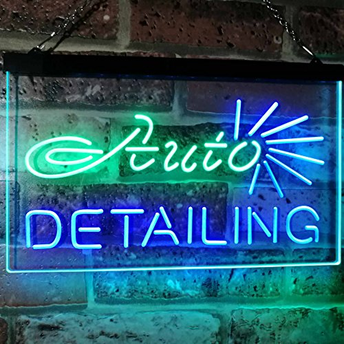 Car Body Shop Auto Detailing LED Neon Light Sign - Way Up Gifts