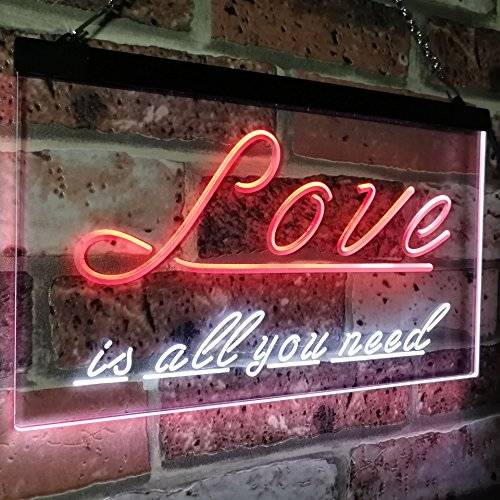 Love is All You Need LED Neon Light Sign - Way Up Gifts